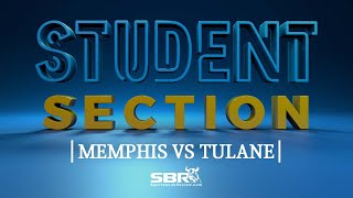 Memphis vs Tulane | Student Section Show Clip | College Football Betting Picks