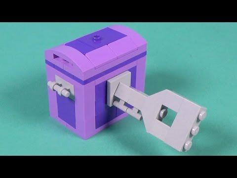 Lego Treasure Chest Building Instructions - Lego Classic 10695
