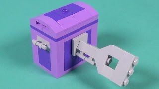 """Lego Treasure Chest Building Instructions - Lego Classic 10695 """"how To"""""""