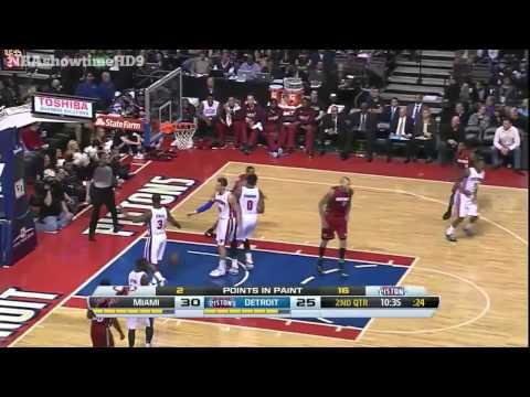 Miami Heat vs Detroit Pistons   Full Game Highlights   March 28, 2014   NBA 2013-14 Season