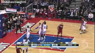 Miami Heat vs Detroit Pistons | Full Game Highlights | March 28, 2014 | NBA 2013-14 Season
