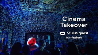 Defy Reality   Oculus Quest   Cinema Takeover