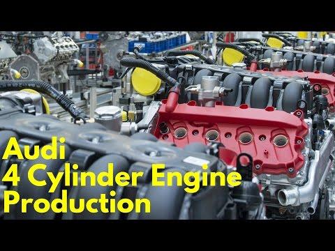 2017 Audi Four Cylinder Engine Production