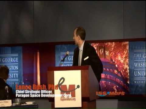 2011 ExploreMars ISS & Mars conference - Washington D.C. - Panel 5 - Lance Bush