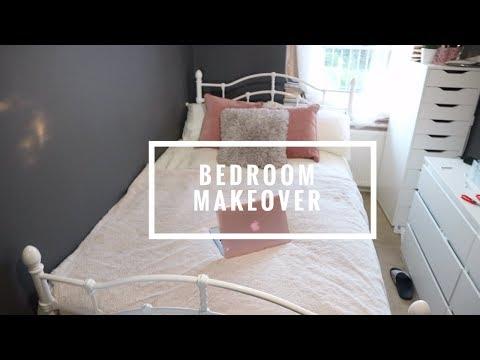 BEDROOM MAKEOVER | Putting furniture together + Decorating | BOLA MARTINS