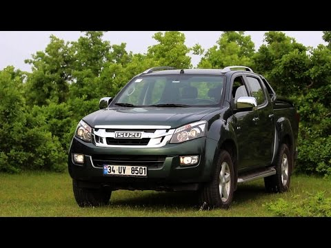 isuzu d max 4x4 v cross ncelemesi youtube. Black Bedroom Furniture Sets. Home Design Ideas