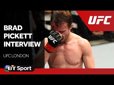 UFC London: Brad Pickett exclusive post-fight interview