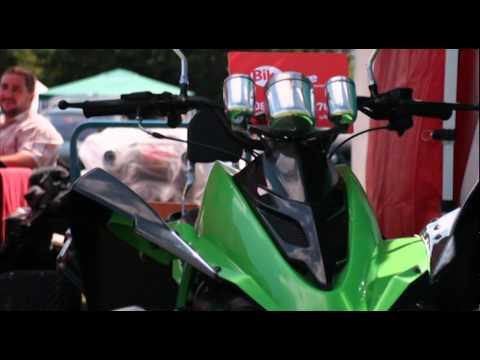VIPER QUADS at Slough Mela 2011 road legal quad bikes
