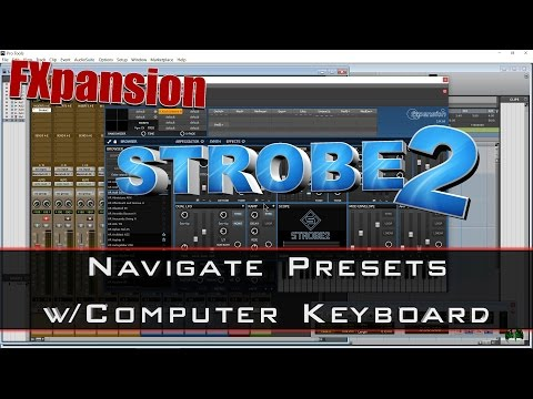 STROBE2 - Change Presets With Computer Keyboard