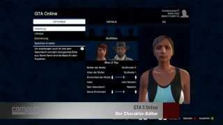 GTA 5 Online: Charakter-Editor ausprobiert