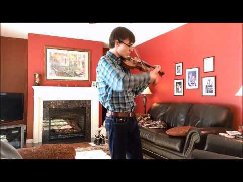 Copland Hoedown for Solo Violin Ithaca
