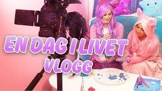 I den här vloggen får ni se hur en dag i vårt liv kan se ut! Vi gör...