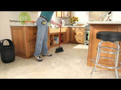 Peel-and-Stick Vinyl Tile Floor Care and Maintenance