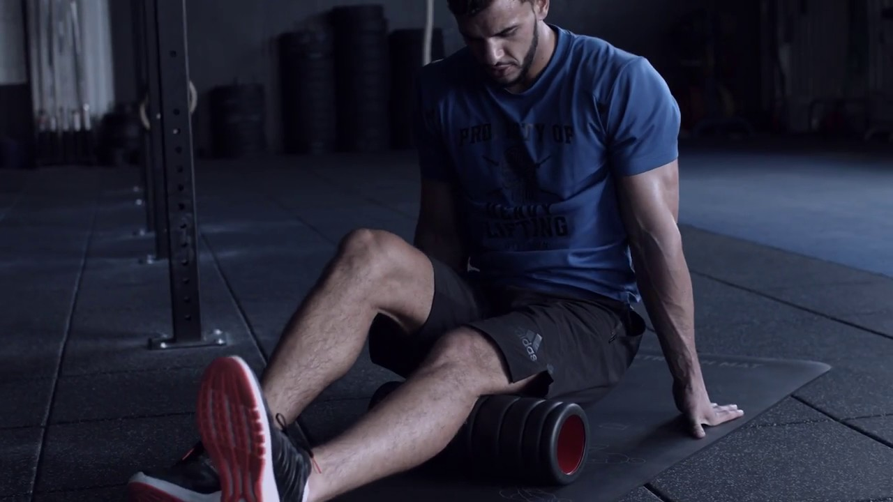 evaluar Ideal Mal uso  Adidas Foam Roller - YouTube