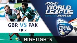 Great Britain v Pakistan Match Highlights - Antwerp Men