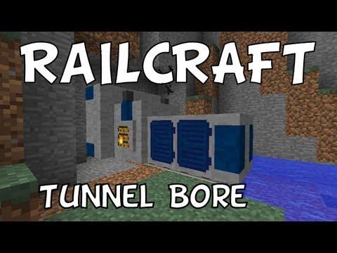RailCraft: Tunnel Bore