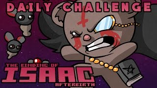 The Binding of Isaac: Afterbirth - Daily Challenge (11/1/2015) [The Lost, Dark Room]