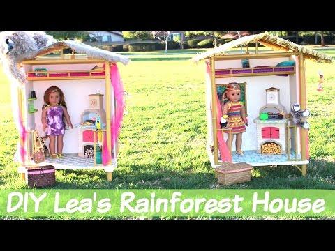 DIY   Lea's Rainforest House