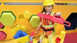 Ulyana Pretend Play BUILDER Kids Indoor Playground