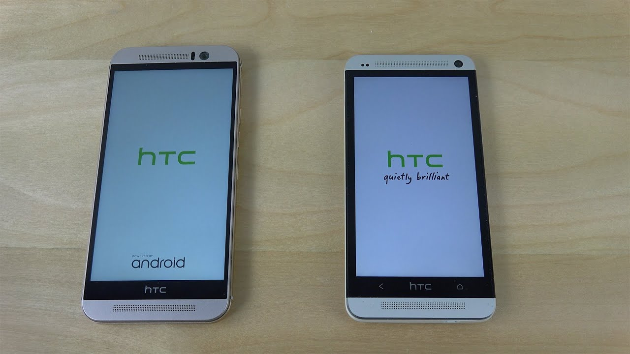 HTC One M9 vs. HTC One M7 - Which Is Faster? (4K) - YouTube