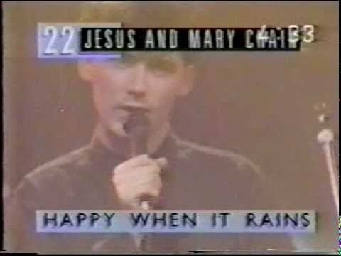 Jesus & Mary Chain   Happy When it Rains on The Roxy, 1987 12 04