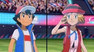 Pokemon Sword and Shield: Galar Ash Vs Serena (Amourshipping Battle)