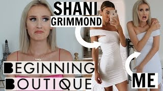 TRYING YOUTUBER'S OUTFITS FROM BEGINNING BOUTIQUE - IS IT WORTH THE MONEY??