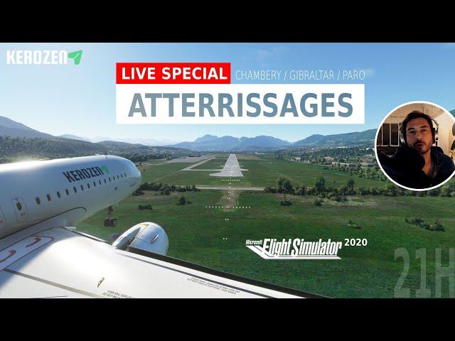 LIVE SPECIAL ATTERRISSAGES ! Concours multijoueur sur FS2020 en A320 Neo