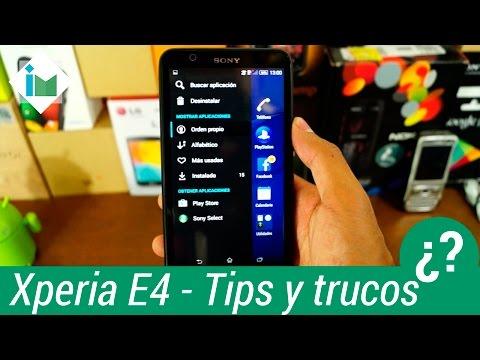 Sony Xperia E4 - Tips y Trucos