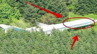 Pesawat di Tengah Hutan, Ketika Pintu Dibuka Ternyata Dalamnya Adalah..... Keren Abis!!