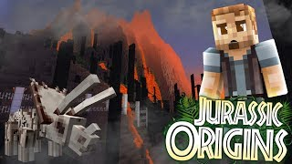 "Jurassic World Origins #20 ""RETURN TO ISLA NUBLAR!"" (Dinosaur Mod Minecraft Roleplay)"