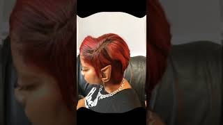 Lacefrontal Wig with Quick Weave Placement