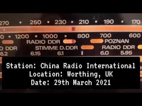 Radio China International 29/03/21