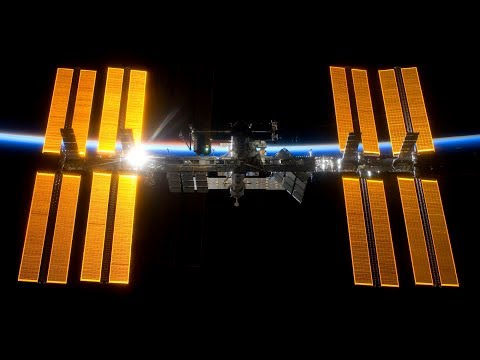 ISS International Space Station Livestream With 2 Cams And Tracking/Map Data (HDEV) - 7
