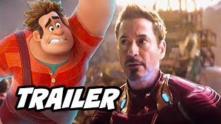 Wreck It Ralph 2 Trailer - Infinity War Marvel Disney Easter Eggs Explained