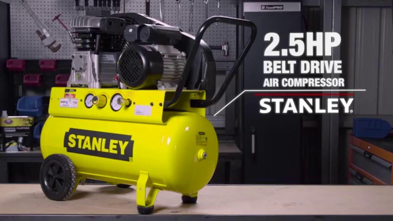 Stanley Air Compressor Belt Drive 2 5hp      Supercheap Auto