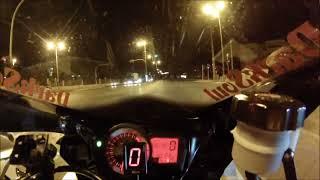 Kagu Ride In Athens GSXR 750 Onboard