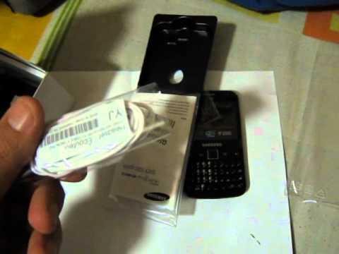 Unboxing Samsung Galaxy Y Pro Duos
