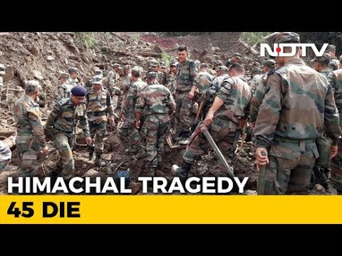 45 Dead In Himachal Pradesh Landslide, Rescue Operations Underway