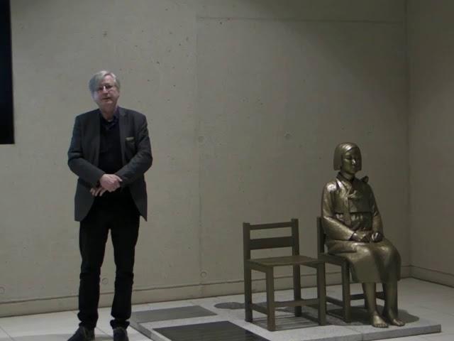 """4. Vernissage """"Mädchenstatue für den Frieden"""" -  Benjamin Ortmeyer"""