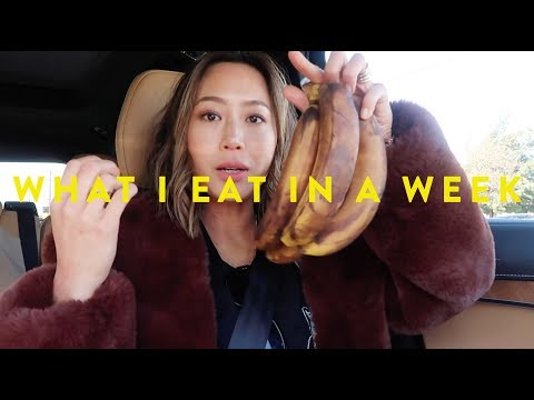What I Eat In A Week  Crazy BananaOnly Diet? & House Update  Vlog#52  Aimee Song
