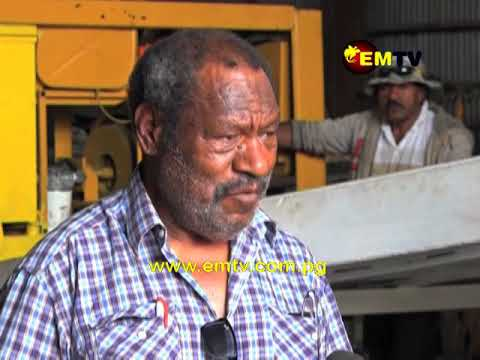 Local Businessman sees Alluvial Mine as PNG's Future