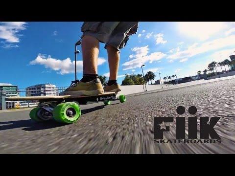 Fiik Electric Skateboards: Australia Team Rides Brisbane  YouTube