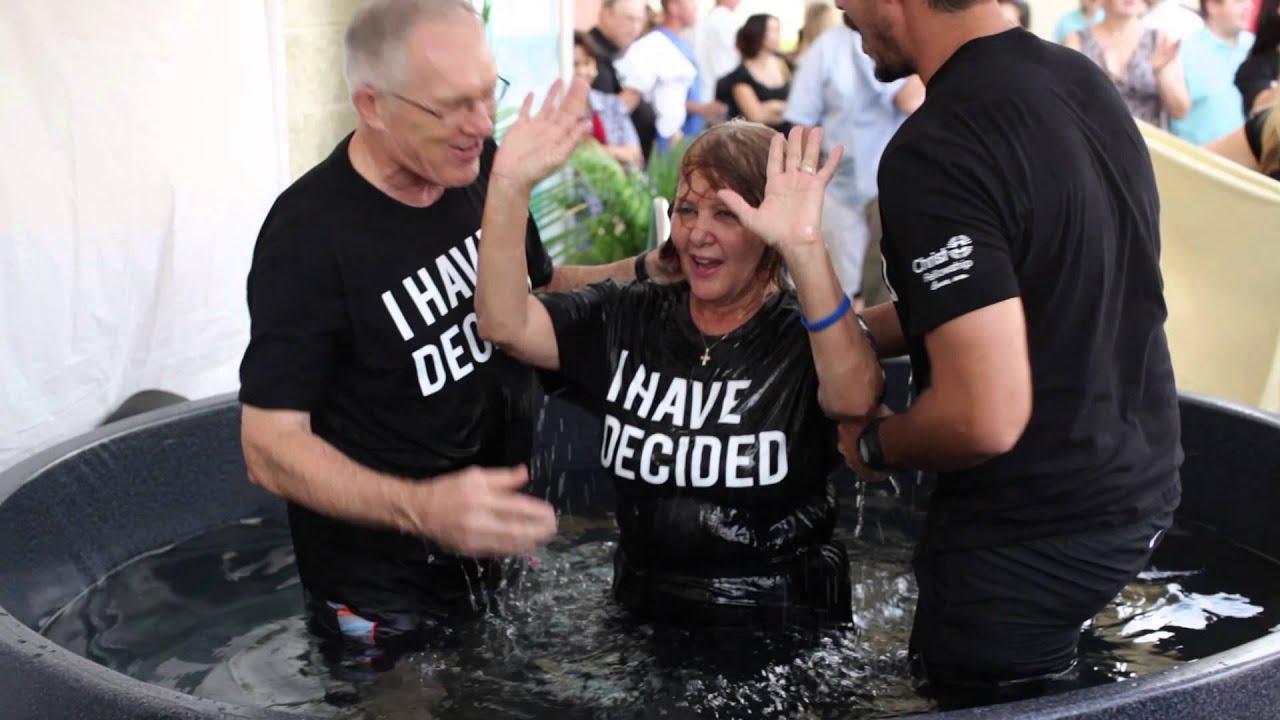 Baptism Weekend Christ Fellowship Church Youtube