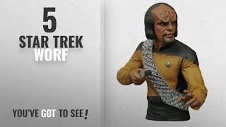 Top 10 Star Trek Worf [2018]: Diamond Select Toys Star Trek: The Next Generation: Lt. Worf Vinyl