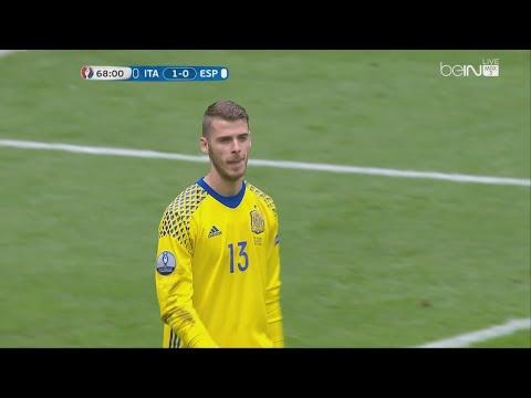David De Gea vs Italy - Euro 2016 (27.06.2016) HD 720p