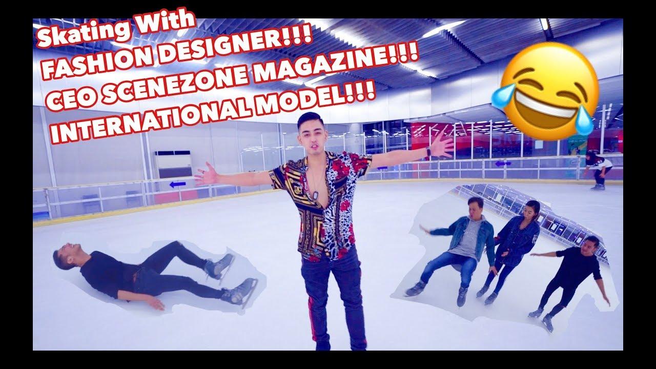 Skating With Fashion Designer Ceo Of Scenezone Magazine And International Model Ep 011 Youtube