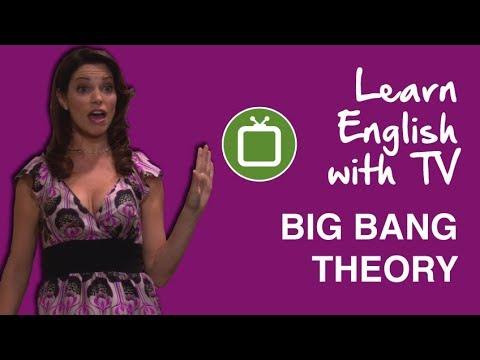 English with Big Bang Theory: Sheldon's Hot Sister