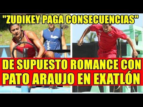 ZUDIKEY PAGA CONSECUENCIAS DE SUPUESTO ROMANCE CON PATO ARAUJO EN EXATLÓN