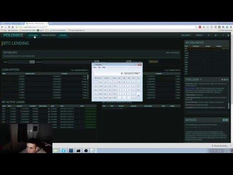 Bitcoin Lending on Poloniex